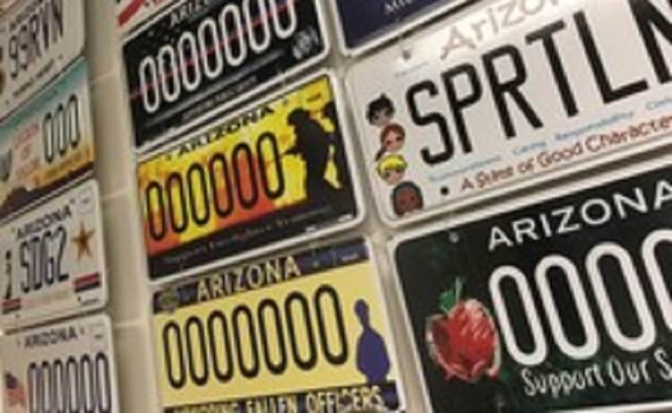 Charitable causes see record proceeds from specialty plate sales